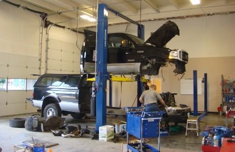 Auto Repair Picture Box