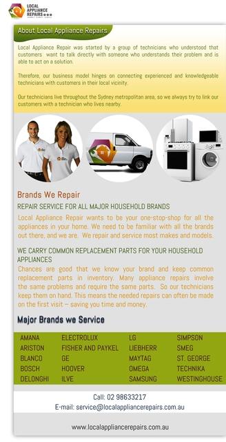Appliance Repair Service Just A Phone Call Away Appliance Repair Service Just A Phone Call Away
