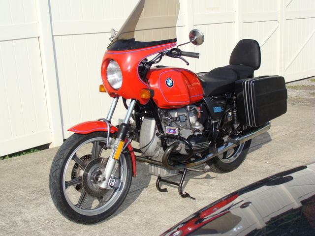 6180194 '77 R100S Belgian Police Custom 001 6180194 1977 BMW R100S Belgian Police Custom