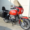 SOLD  6180194 1977 BMW R100S Belgian Police Custom