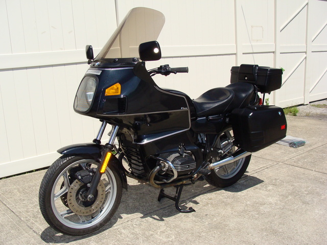 6293970 ';93 R100RT, Classic Black SOLD.....6293970 ';93 R100RT, Classic Black. Bags & Trunk. Very low Miles!