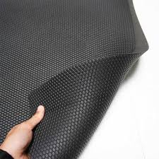 Bubble Hammer Top Ribbed Back Gym Mat Solid Interconnecting Gym Tiles