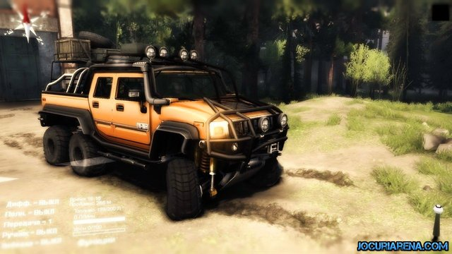spintires14 Hummer H2 SUT 6x6 for Spin Tires 2014  Spin Tires 2014