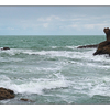 Biarritz Fisherman Panorama - France Panoramas