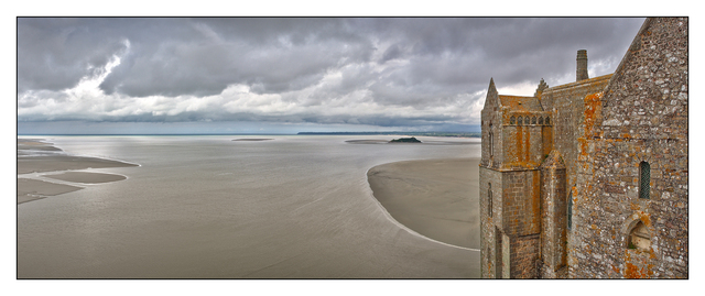 Mont Saint Michel Panorama France Panoramas