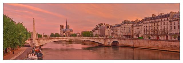 Pont de la Tournelle Panorama France Panoramas