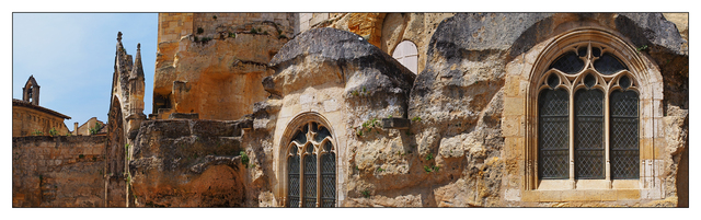 Saint Emilion Church Panorama France Panoramas