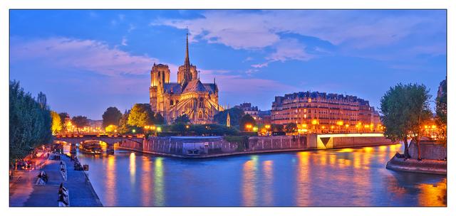 Notre Dame Panorama France Panoramas