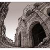 Arles Amphitheatre Sepia - France