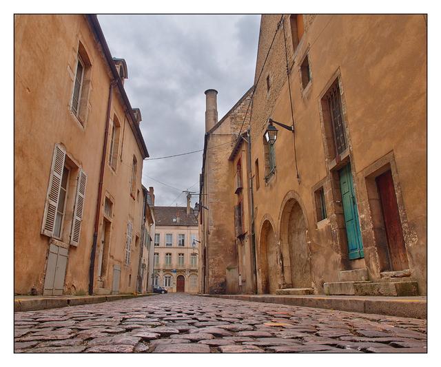 Beaune  Street France