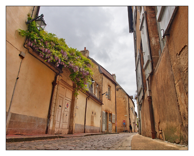 Beaune  Streets France