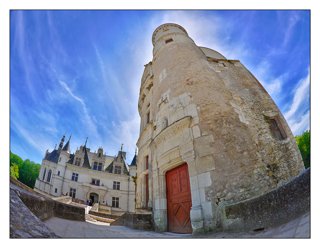 Chenonceau tower France