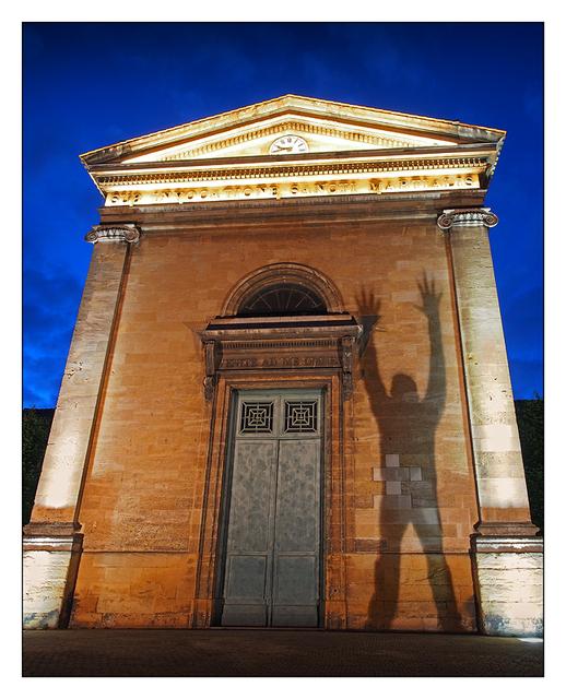 Eglise Saint Martial Shadow France