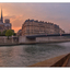 ile de la Cite sunset - France