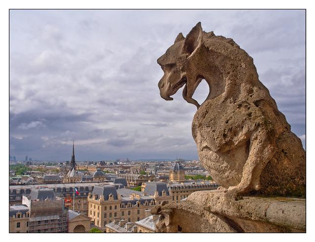 Notre Dame Chimera France