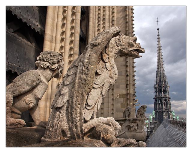 Notre Dame Chimeras France