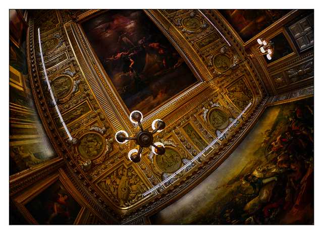 Palace of Versailles Ceiling France