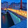 Pont de la Tournelle lights - France