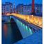 Pont de la Tournelle lights - France