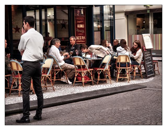 Rue Montorgueil Cafe France