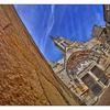 Saint Emilion Church Skies - France