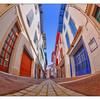 St Jean de Luz street - France
