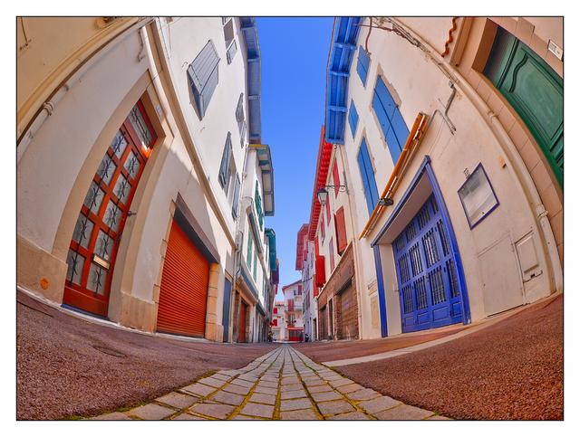 St Jean de Luz street France