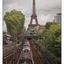 Tour Eiffe and Train - France