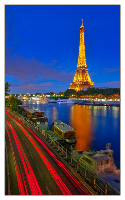 Tour Eiffel Night France