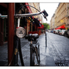 Wet Parisian Bike - France