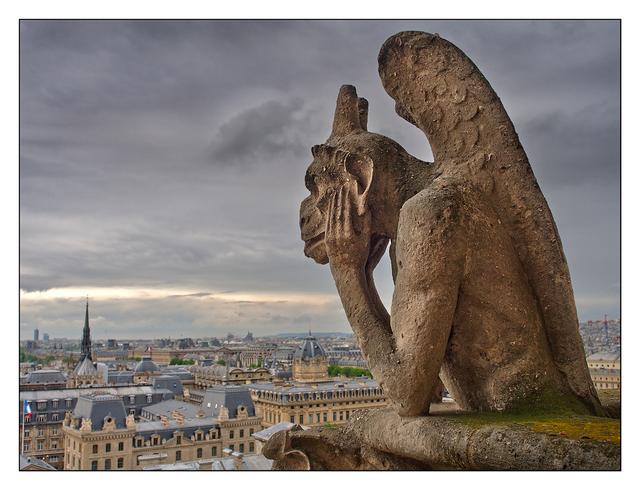 - Notre Dame Stryga France