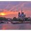 - Notre Dame Sunset - France