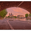 - Under Pont de la Tournelle - France
