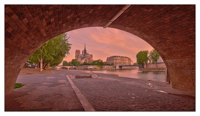 - Under Pont de la Tournelle France
