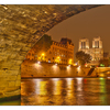 -Under Pont Saint Michel - France