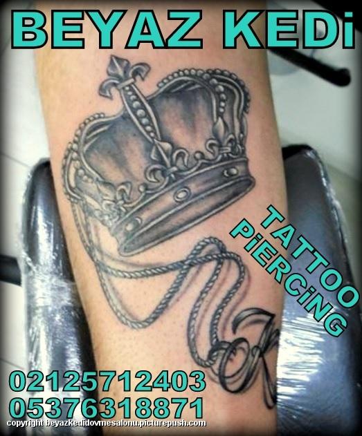 kral tacı dövmesi mecidiyeköy dövmeci istanbulda dövme yapanlar beşiktaş dövmeci