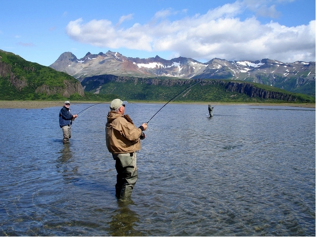 alaska fishing Picture Box