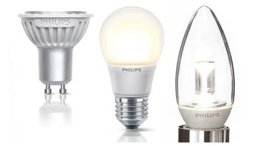 LED bulbs Picture Box