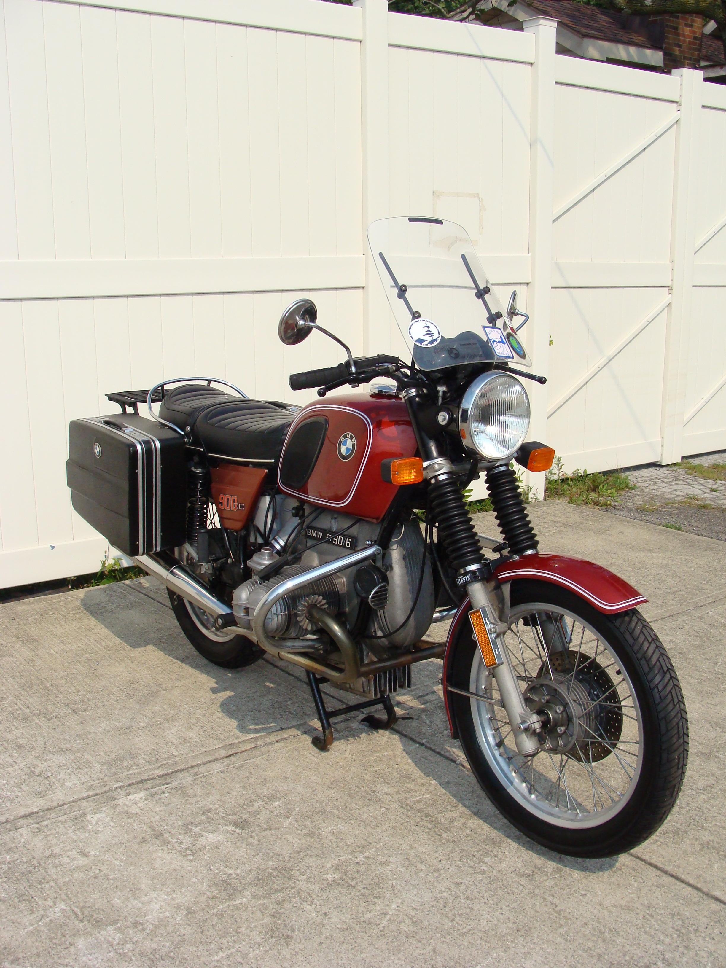 4964226 75 r90 6 copper 025 sold 4964226 1976 bmw r90 6 rh repsyclebmw picturepush com 1974 BMW Motorcycle BMW Motorcycles Green