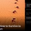 survival skills - Picture Box