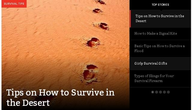 survival skills Picture Box