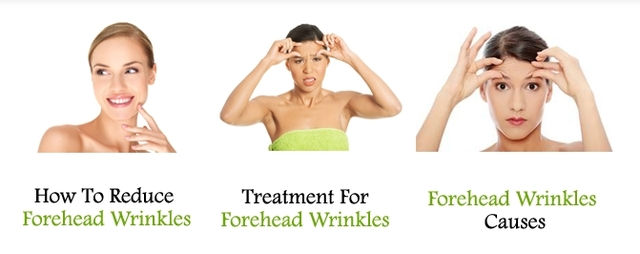 Forehead wrinkles Picture Box