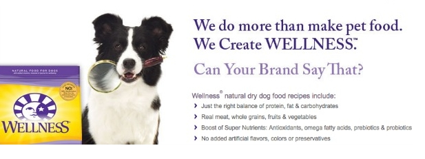 Wellness dog food Picture Box