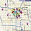 find restaurants map - Picture Box