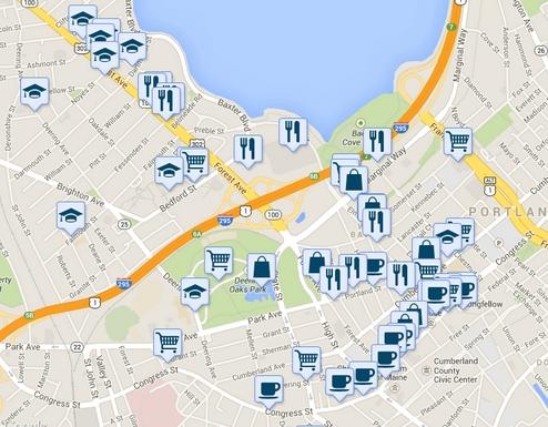 restaurants near me map Picture Box
