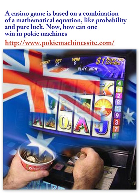 Basic Things To Know About Pokie Machines Picture Box