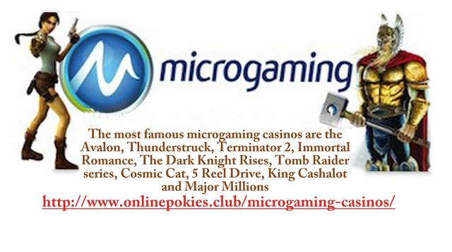 Microgaming Casinos-Why are They so Popular Picture Box