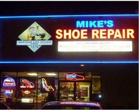 Leather Repair Service Las Vegas NV|(702) 362-2724 Mike's Shoe Repair
