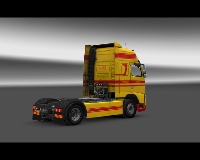 ets2  Volvo Fh Int prive skin ets2