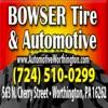 Bowser Tire & Automotive, PA - Bowser Tire & Automotive, PA
